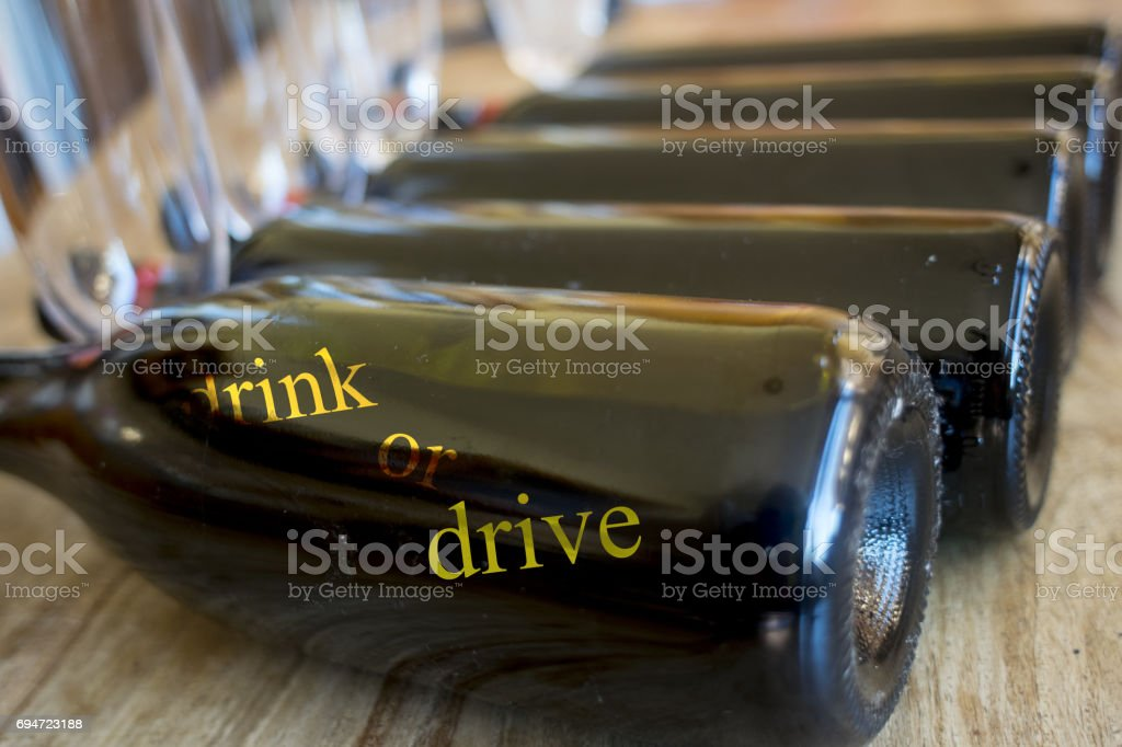 drink or drive stock photo