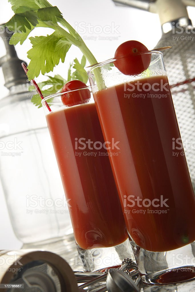 Drink Stills: Bloody Mary royalty-free stock photo