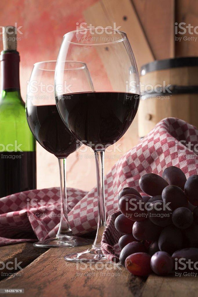 Drink Stills: Red royalty-free stock photo