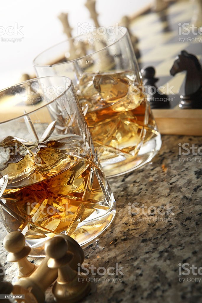 Drink Stills: Whiskey royalty-free stock photo