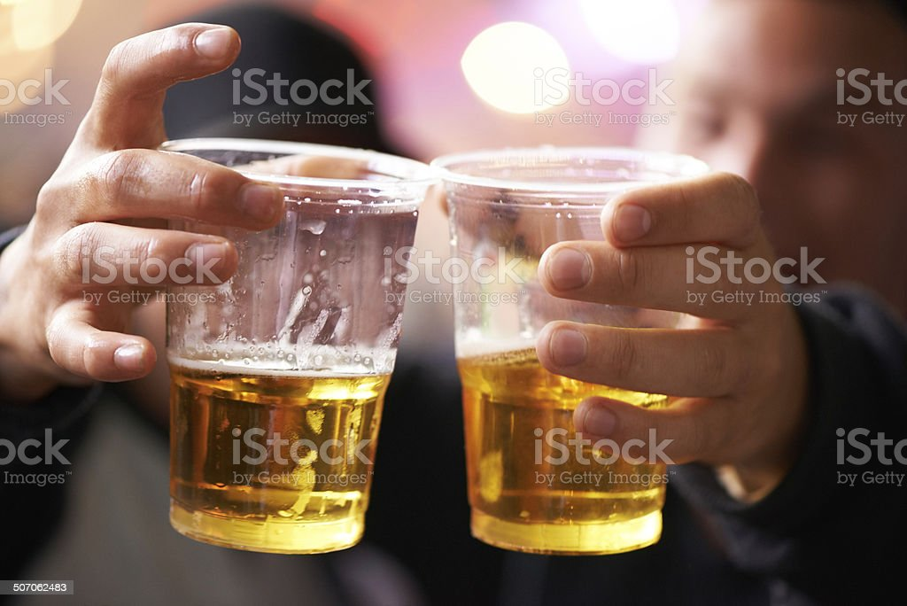 Drink up! stock photo