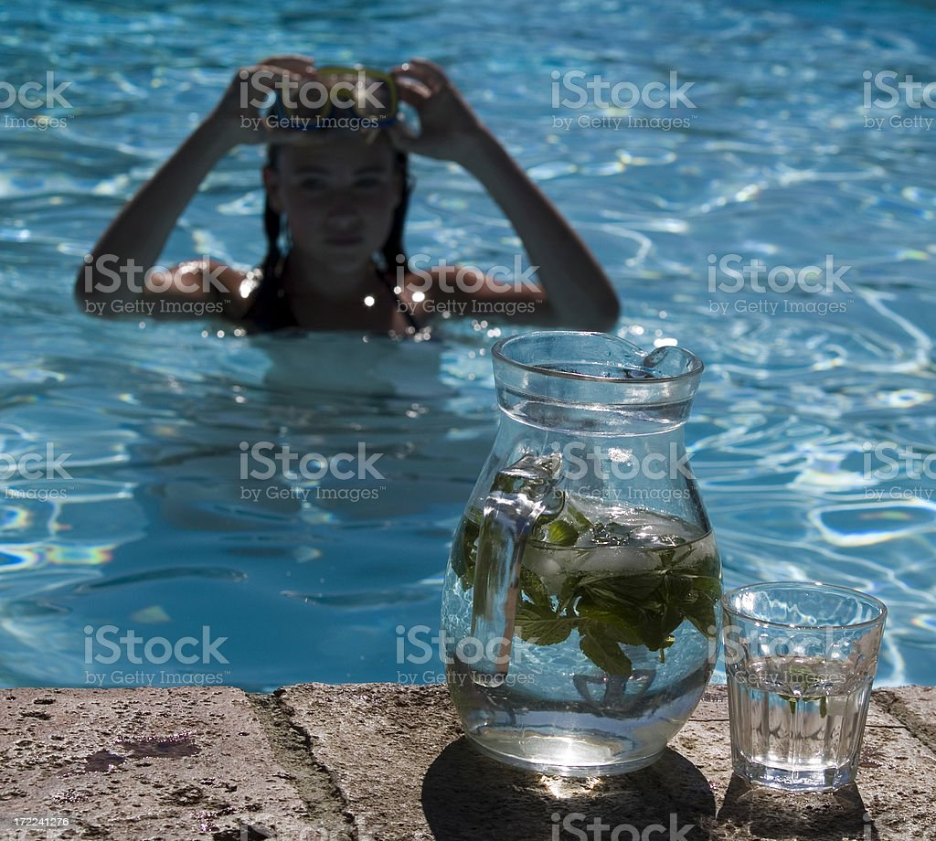 Drink Water..... royalty-free stock photo