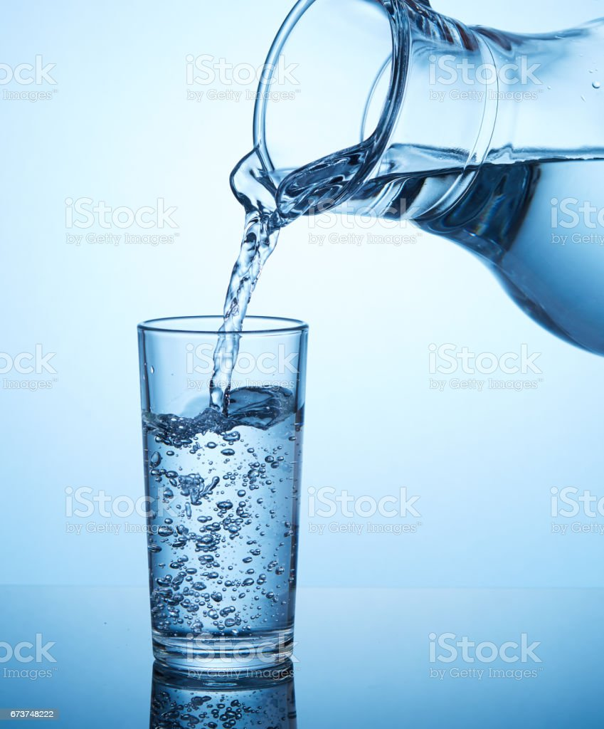 Drink Water. royalty-free stock photo