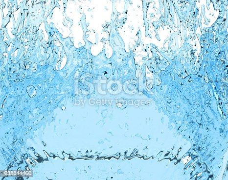 859844580istockphoto drink water splash 3D illustration liquid on white background 638844460
