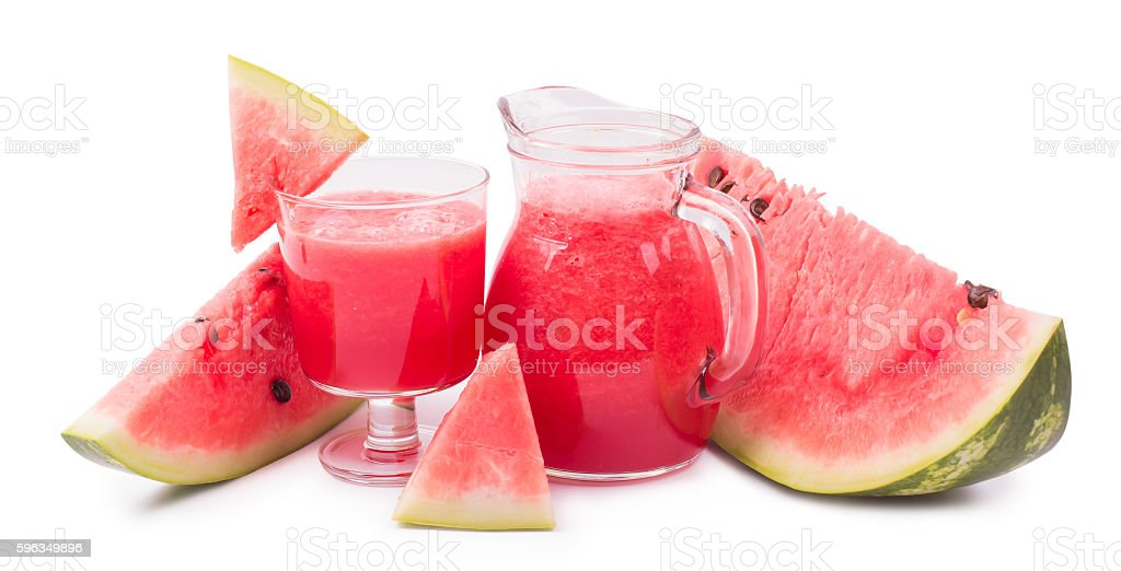 Drink watermelon royalty-free stock photo
