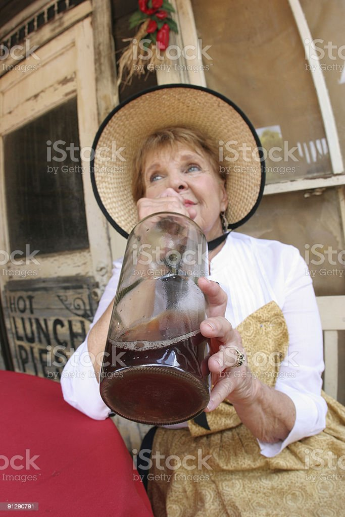 Drinkin Time royalty-free stock photo