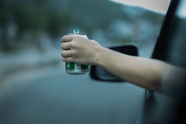 Beber e dirigir. DUI. Reckless dirigindo. - foto de acervo