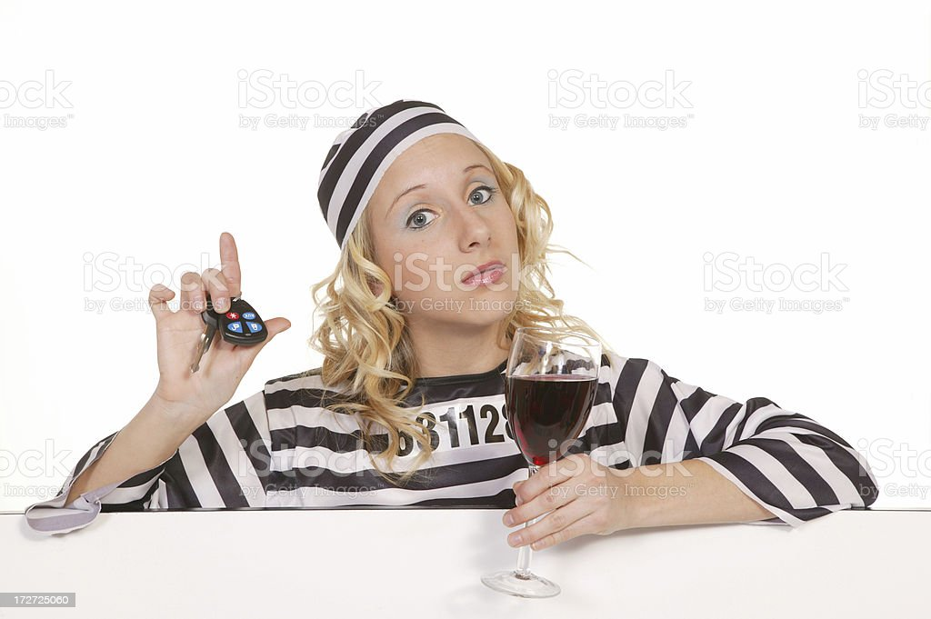 drinking and driving is criminal royalty-free stock photo