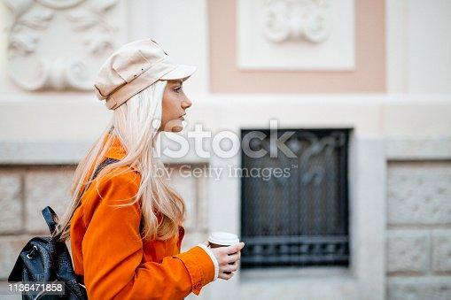 870648602 istock photo Drinking coffee 1136471858