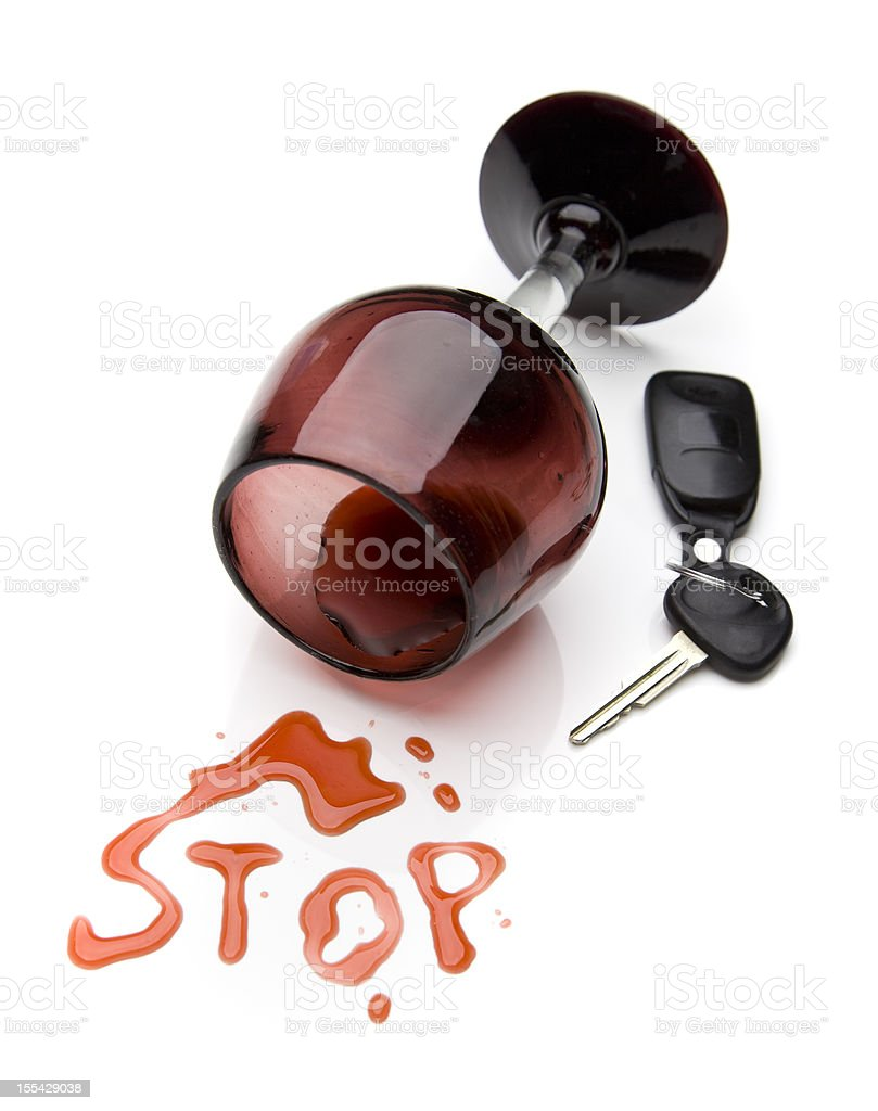 Drinking & Driving stock photo