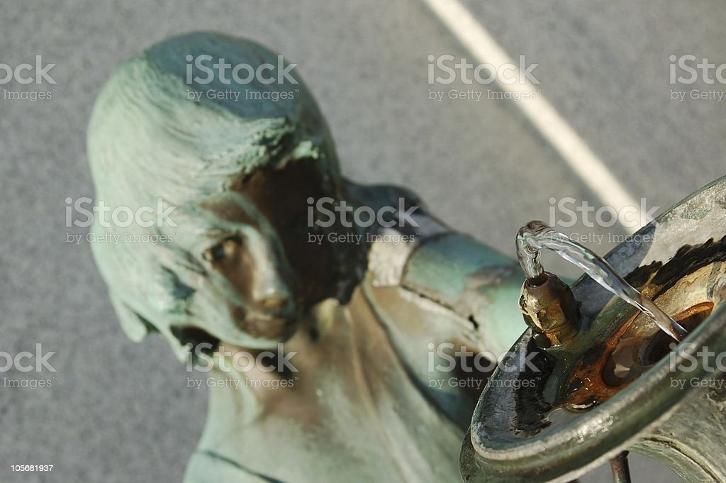 Drinking Fountain of Youth stock photo