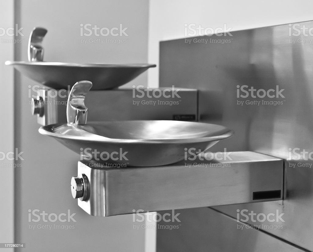 Drinking Fountains stock photo