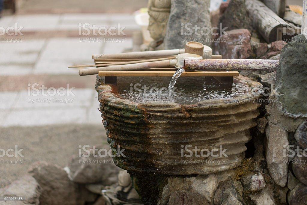 Drinking fountains stock photo
