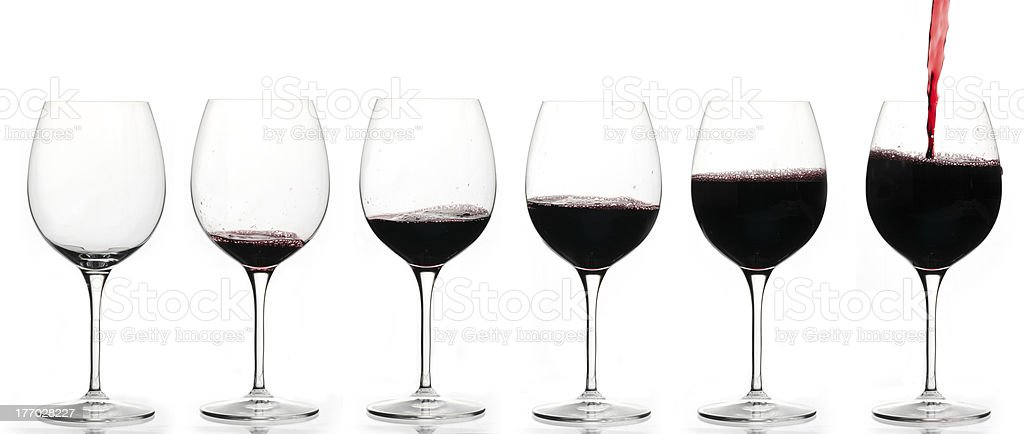 Drinking graph royalty-free stock photo
