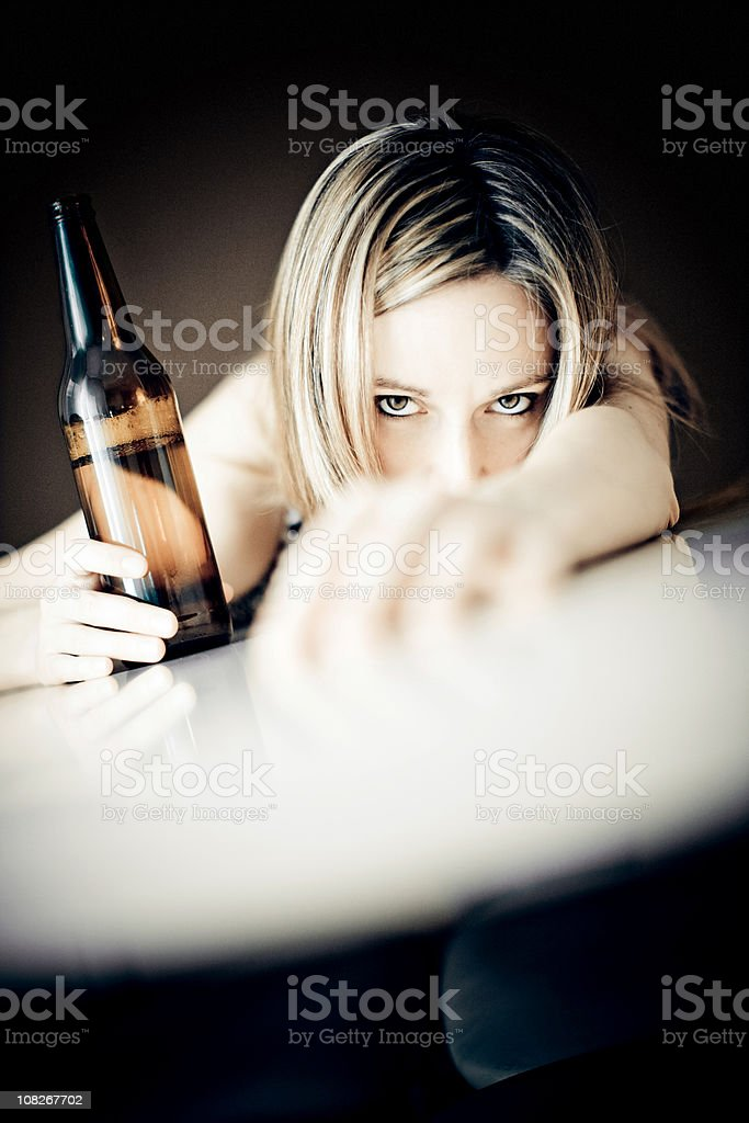 Drinking Issues stock photo