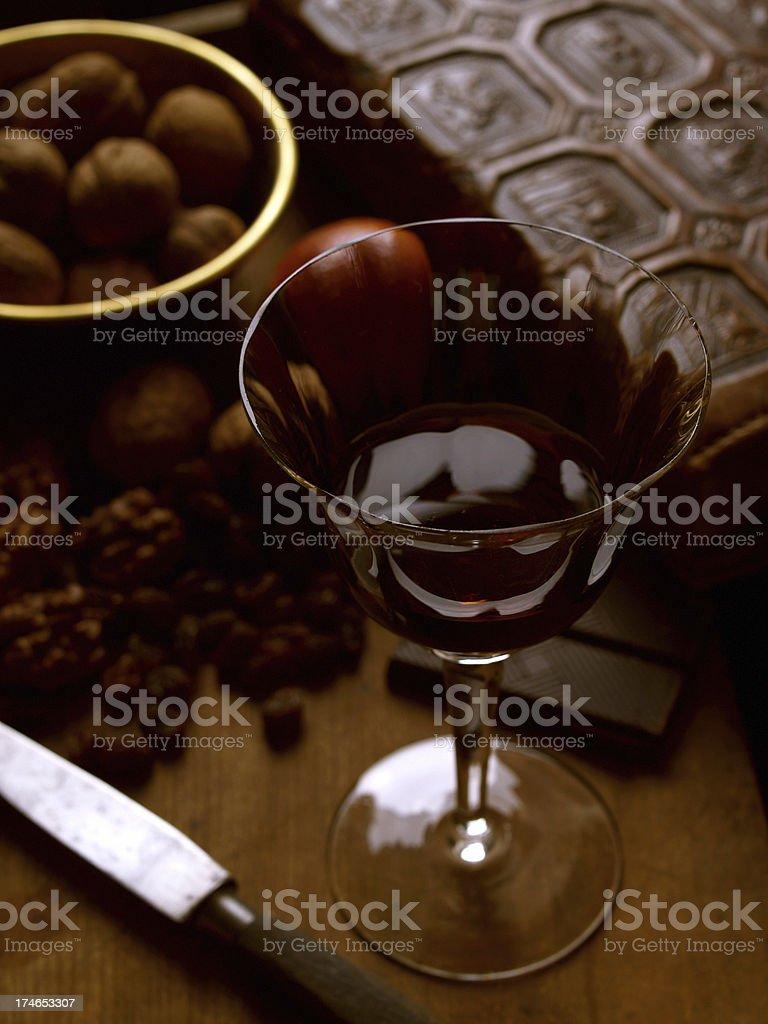 drinking port stock photo
