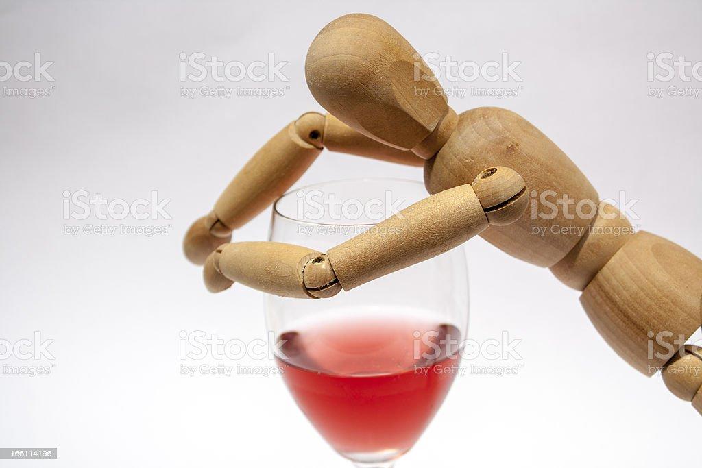 Drinking Problem royalty-free stock photo
