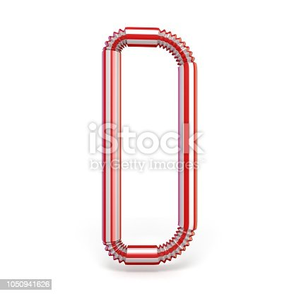 1050941648 istock photo Drinking straw font Letter D 3D 1050941626