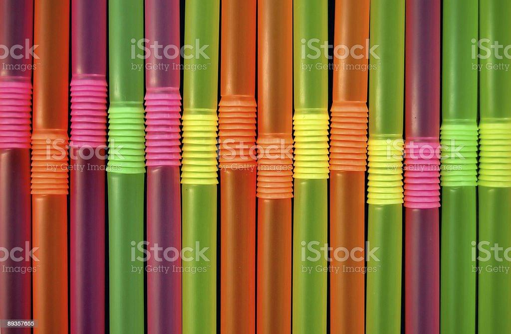 drinking straws royaltyfri bildbanksbilder