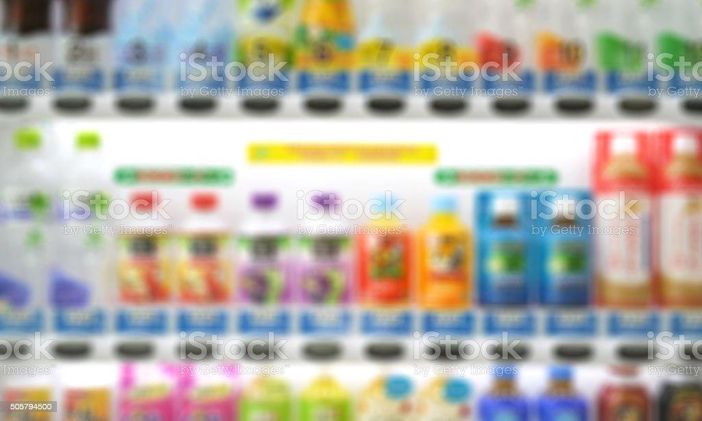 Drinking vending machine blur stock photo