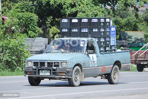 641289780 istock photo Drinking water delivery truck of Nam Nueng company 485583384