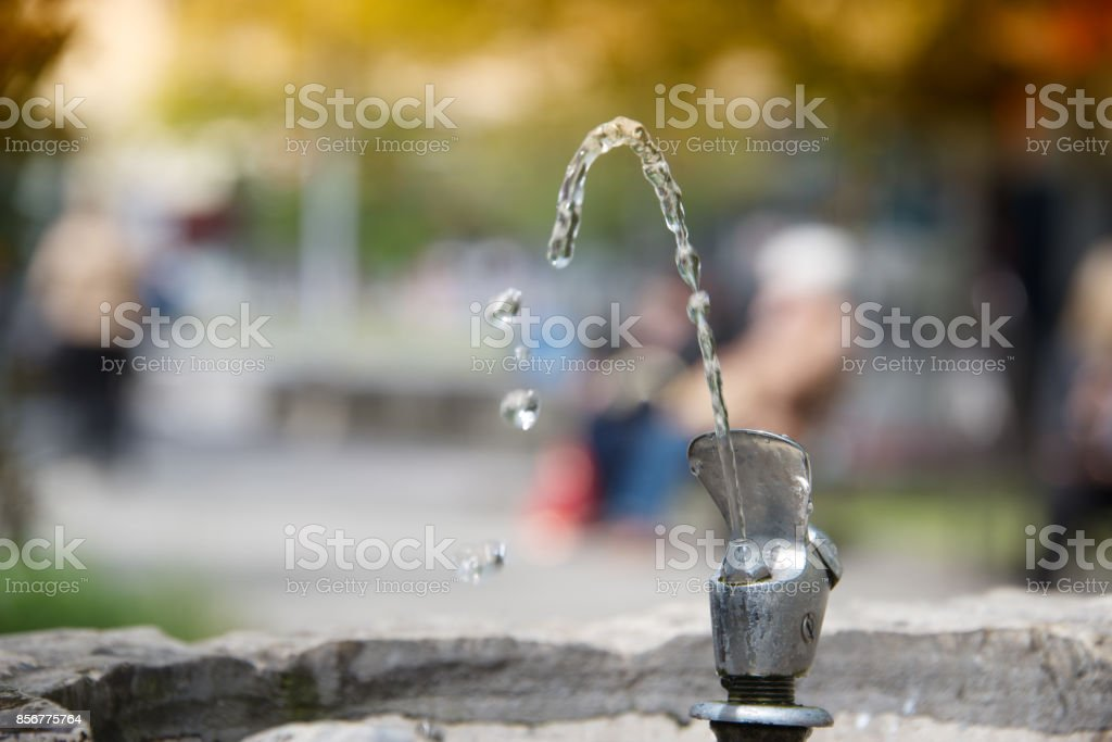 small fountain in the park drinking water pictures images and stock photos