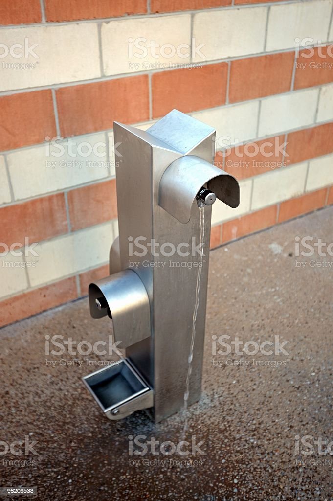 Drinking water fountain royalty-free stock photo
