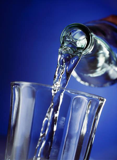 Drinking Water stock photo