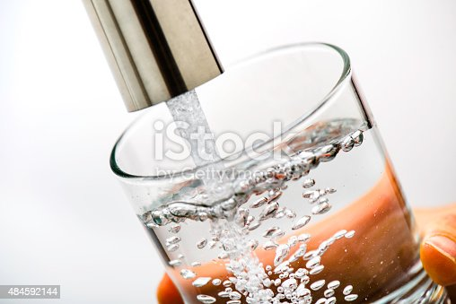Clean drinking water from faucet