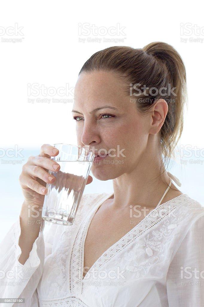 Água potável  foto royalty-free