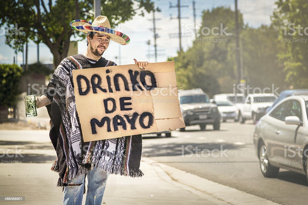 Drinko de Mayo stock photo