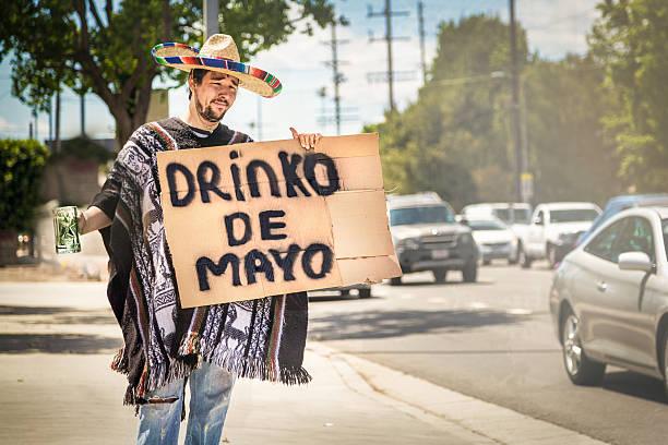 drinko de mayo - cinco de mayo stock photos and pictures