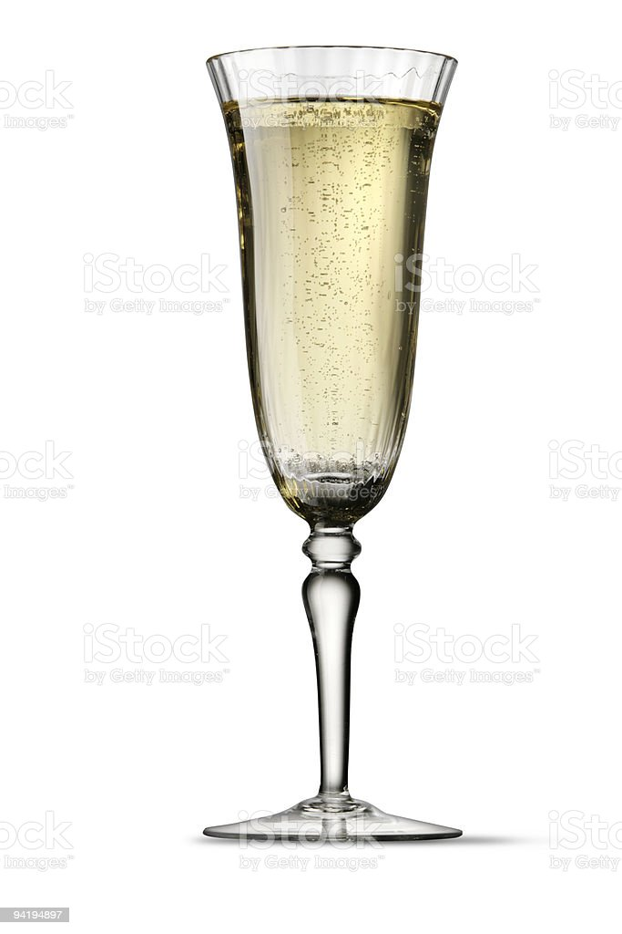 Drinks: Champagne royalty-free stock photo