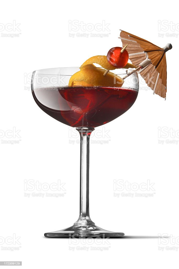 Drinks: Cosmopolitan royalty-free stock photo