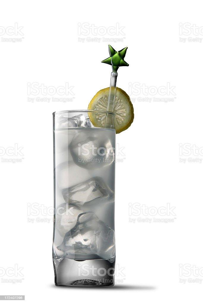 Drinks: Gin Tonic royalty-free stock photo