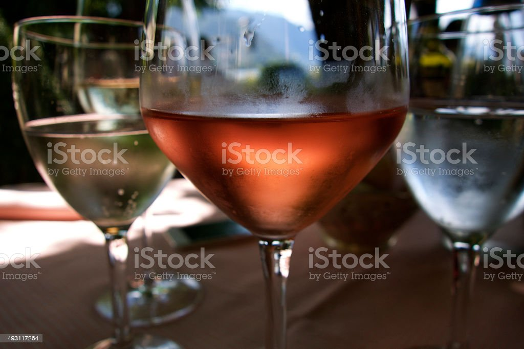 Drinks in Italy stock photo
