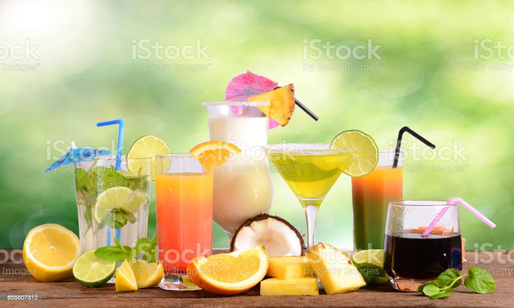 Drinks - foto stock