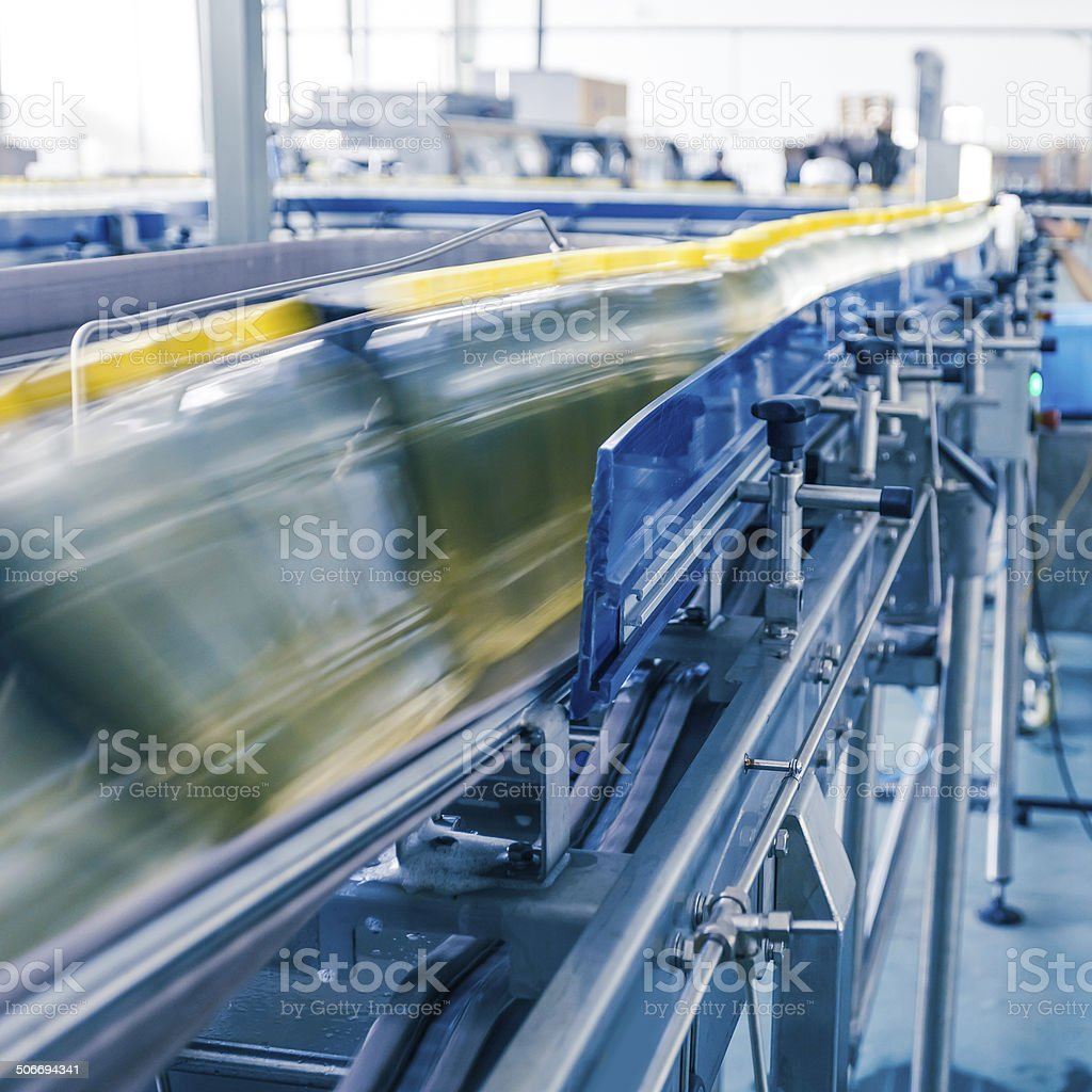 drinks production plant in China royalty-free stock photo