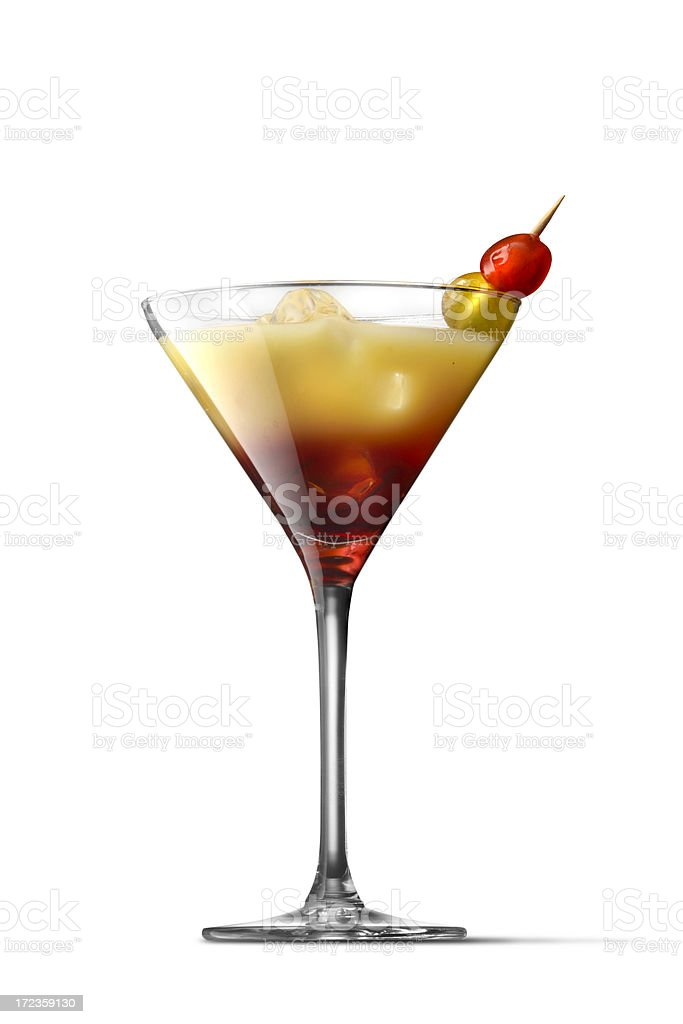 Drinks: Tequila Sunset royalty-free stock photo
