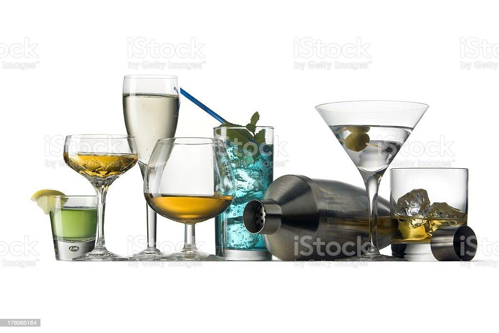 Drinks: Variety stock photo
