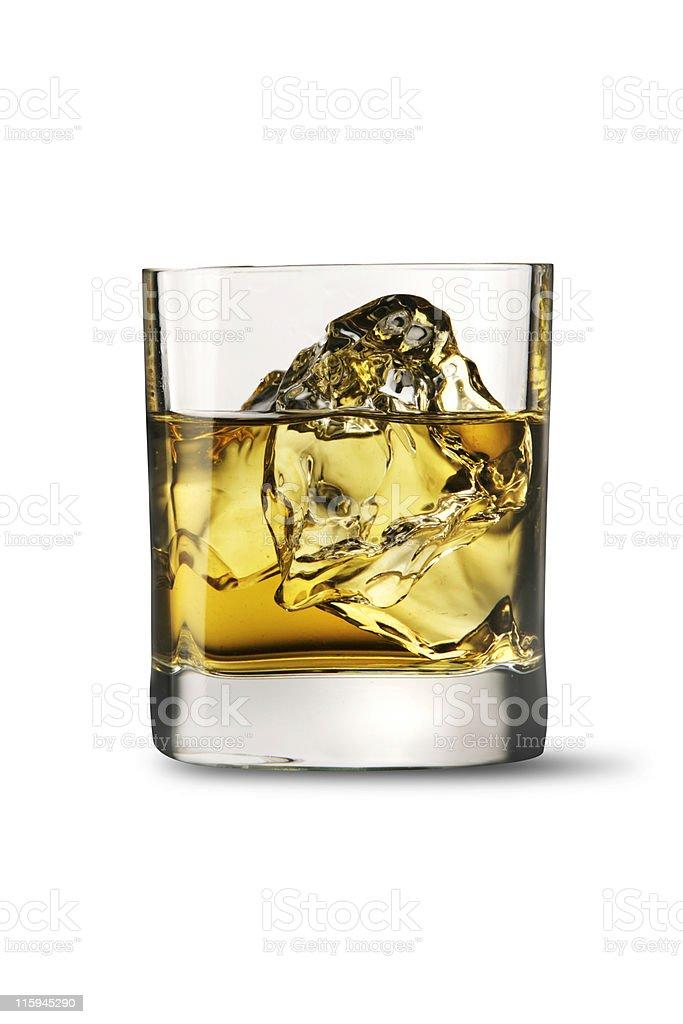 Drinks: Whiskey royalty-free stock photo