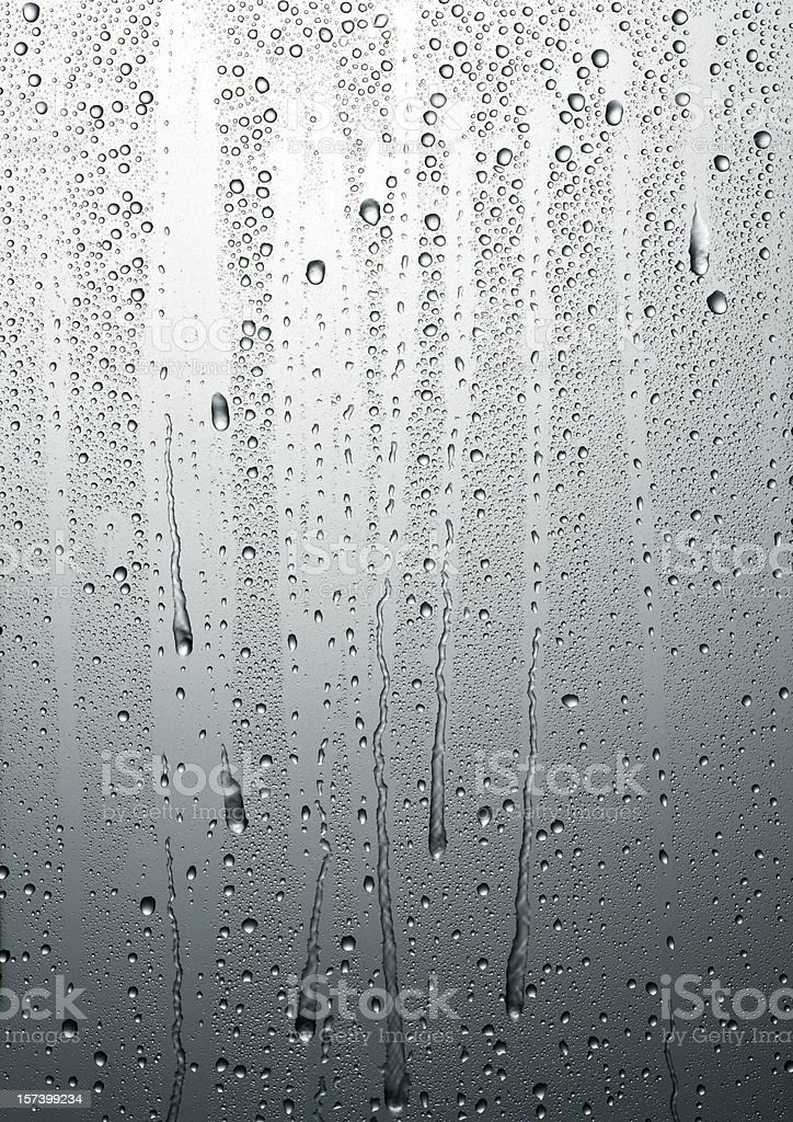 Dripping condensation stock photo