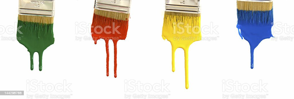 Dripping Paint royalty-free stock photo