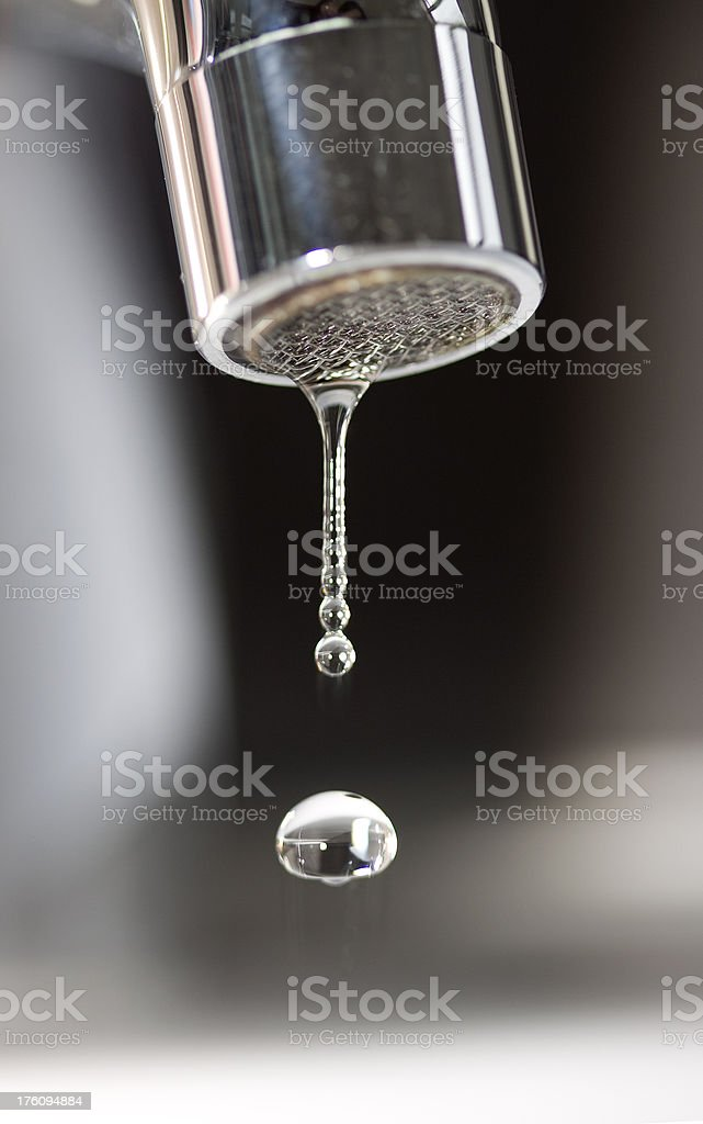 Dripping Tap royalty-free stock photo
