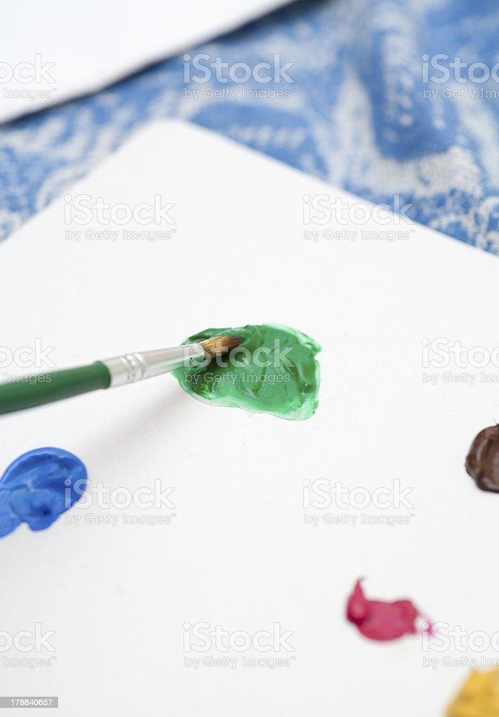 drips of paint royalty-free stock photo