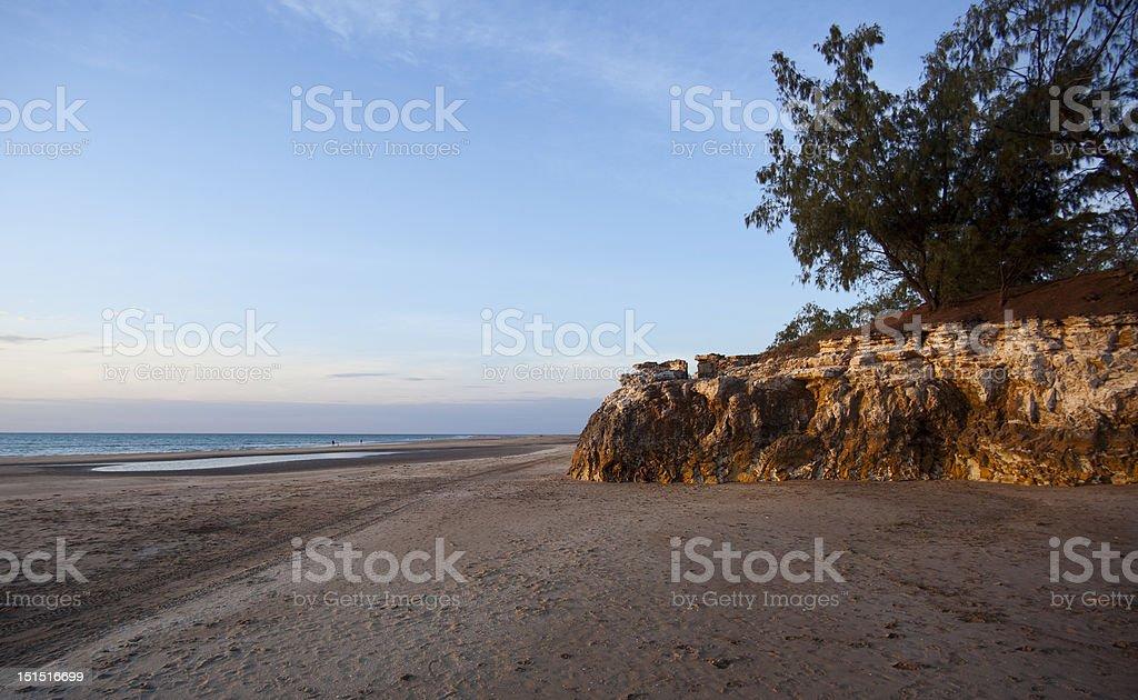Dripstone Cliffs, Casuarina Beach, Darwin, Northern Territory royalty-free stock photo