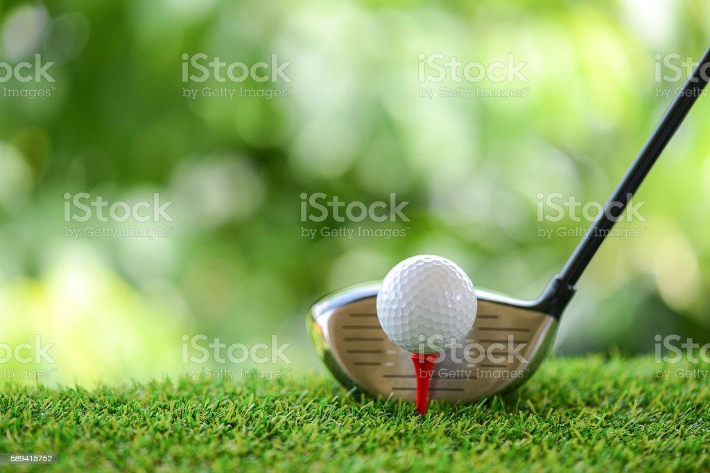drive de golf  - Photo