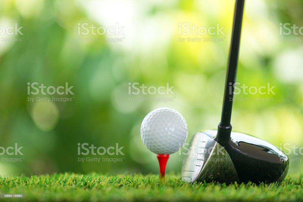drive golf stock photo