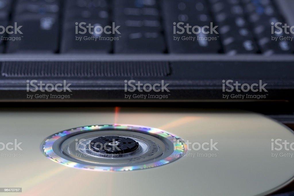 DVD Drive royalty-free stock photo