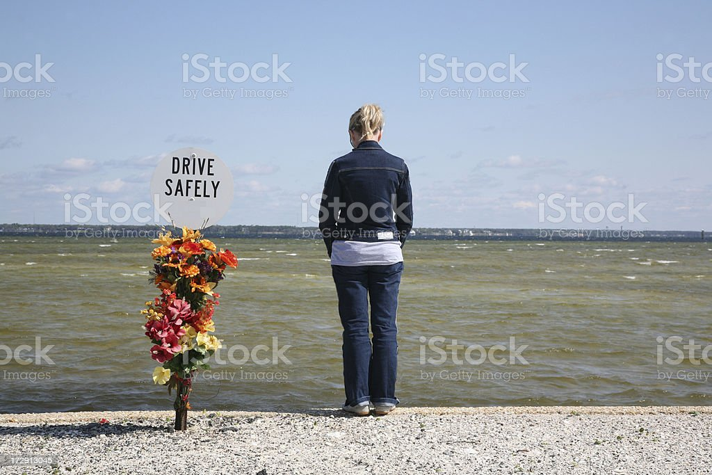 Drive safely... royalty-free stock photo